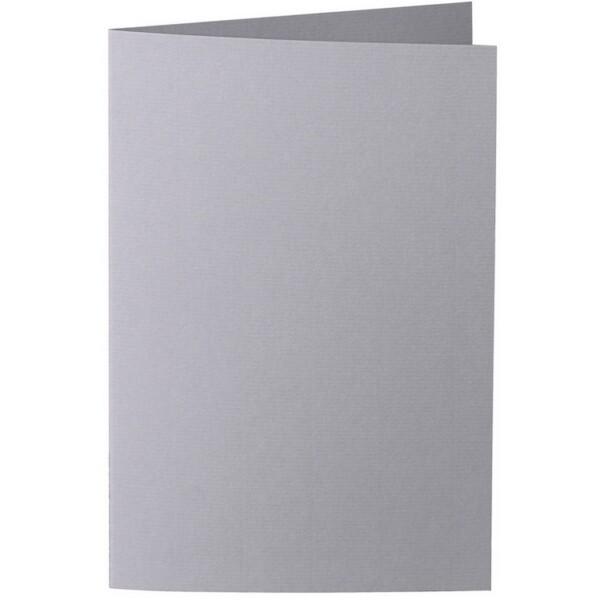 Artoz 1001 - 'Graphite' Card. 240mm x 169mm 220gsm B6 Bi-Fold (Long Edge) Card.