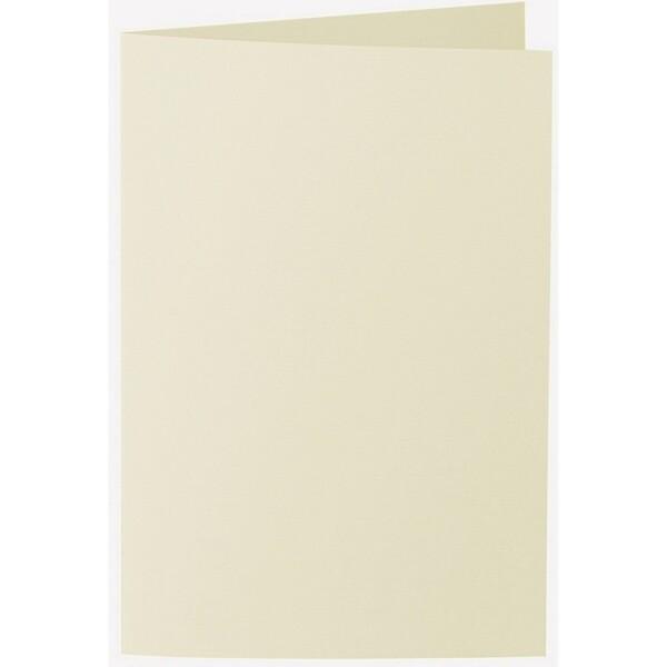 Artoz 1001 - 'Crema' Card. 240mm x 169mm 220gsm B6 Bi-Fold (Long Edge) Card.
