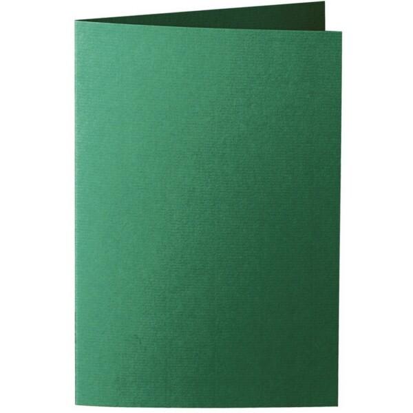 Artoz 1001 - 'Racing Green' Card. 240mm x 169mm 220gsm B6 Bi-Fold (Long Edge) Card.