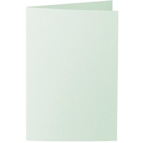 Artoz 1001 - 'Pale Mint' Card. 240mm x 169mm 220gsm B6 Bi-Fold (Long Edge) Card.