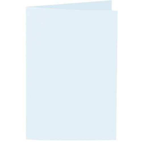 Artoz 1001 - 'Light Blue' Card. 240mm x 169mm 220gsm B6 Bi-Fold (Long Edge) Card.