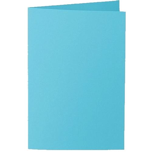 Artoz 1001 - 'Turquoise' Card. 240mm x 169mm 220gsm B6 Bi-Fold (Long Edge) Card.