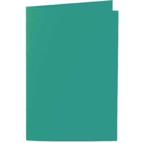 Artoz 1001 - 'Tropical Green' Card. 240mm x 169mm 220gsm B6 Bi-Fold (Long Edge) Card.