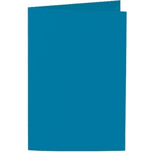Artoz 1001 - 'Teal' Card. 240mm x 169mm 220gsm B6 Bi-Fold (Long Edge) Card.