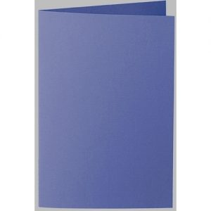 Artoz 1001 - 'Indigo' Card. 240mm x 169mm 220gsm B6 Bi-Fold (Long Edge) Card.