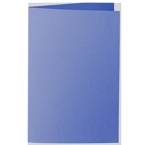 Artoz 1001 - 'Majestic Blue' Card. 240mm x 169mm 220gsm B6 Bi-Fold (Long Edge) Card.