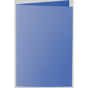 Artoz 1001 - 'Royal Blue' Card. 240mm x 169mm 220gsm B6 Bi-Fold (Long Edge) Card.