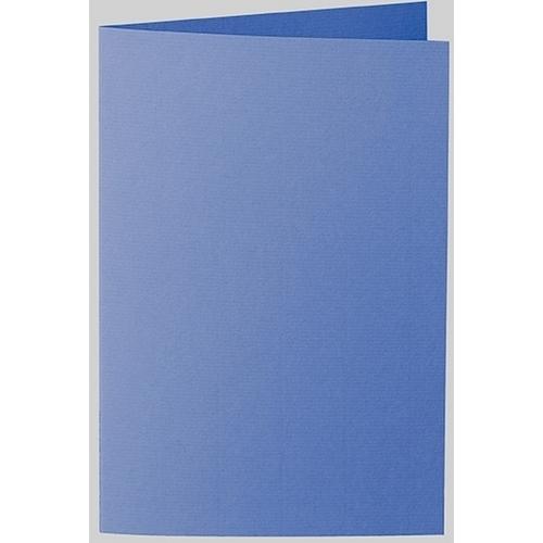 Artoz 1001 - 'Royal Blue' Card. 240mm x 169mm 220gsm B6 Bi-Fold (Long Edge) Card.