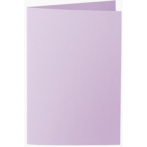 Artoz 1001 - 'Lilac' Card. 240mm x 169mm 220gsm B6 Bi-Fold (Long Edge) Card.
