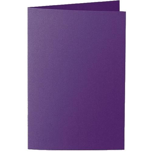 Artoz 1001 - 'Violet' Card. 240mm x 169mm 220gsm B6 Bi-Fold (Long Edge) Card.