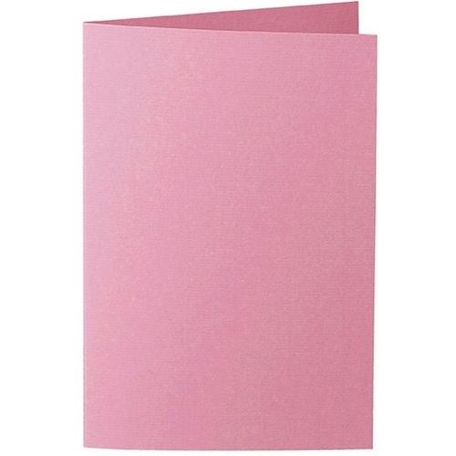 Artoz 1001 - 'Coral' Card. 240mm x 169mm 220gsm B6 Bi-Fold (Long Edge) Card.