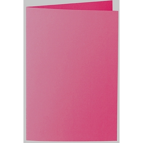 Artoz 1001 - 'Fuchsia' Card. 240mm x 169mm 220gsm B6 Bi-Fold (Long Edge) Card.