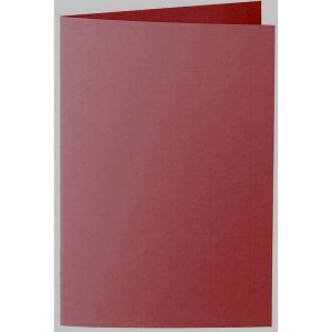 Artoz 1001 - 'Bordeaux' Card. 240mm x 169mm 220gsm B6 Bi-Fold (Long Edge) Card.