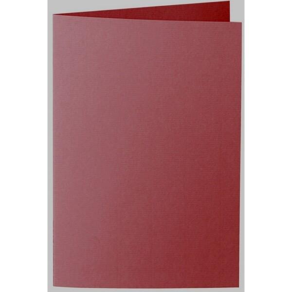 Artoz 1001 - 'Bordeaux' Card. 240mm x 169mm 220gsm B6 Bi-Fold (Long Edge) Card.