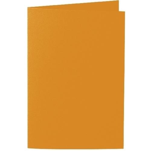 Artoz 1001 - 'Mandarin' Card. 240mm x 169mm 220gsm B6 Bi-Fold (Long Edge) Card.