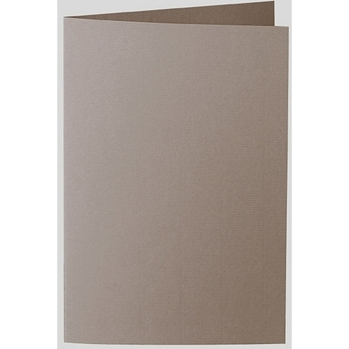 Artoz 1001 - 'Taupe' Card. 240mm x 169mm 220gsm B6 Bi-Fold (Long Edge) Card.