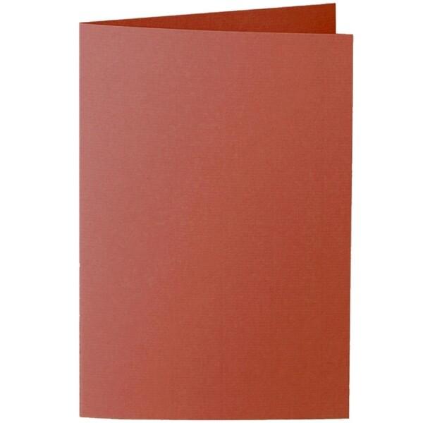Artoz 1001 - 'Copper' Card. 240mm x 169mm 220gsm B6 Bi-Fold (Long Edge) Card.