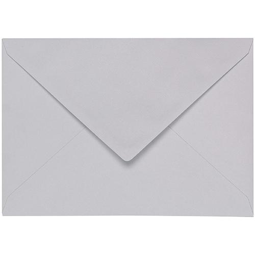 Artoz 1001 - 'Light Grey' Envelope. 178mm x 125mm 100gsm B6 Gummed Envelope.