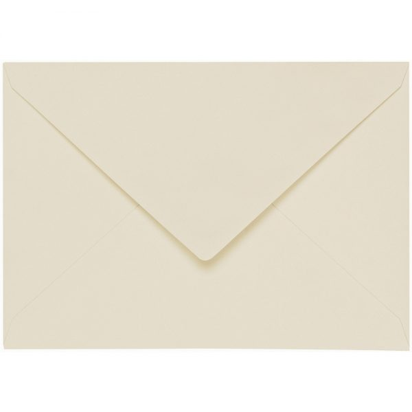 Artoz 1001 - 'Chamois' Envelope. 178mm x 125mm 100gsm B6 Gummed Envelope.