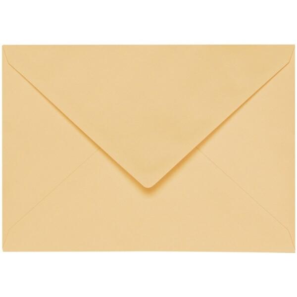 Artoz 1001 - 'Honey Yellow' Envelope. 178mm x 125mm 100gsm B6 Gummed Envelope.