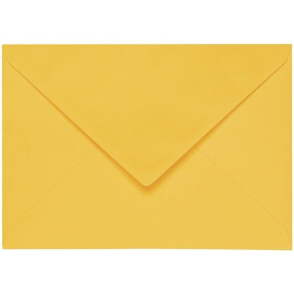 Artoz 1001 - 'Sun Yellow' Envelope. 178mm x 125mm 100gsm B6 Gummed Envelope.