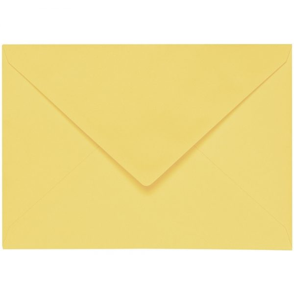 Artoz 1001 - 'Citro' Envelope. 178mm x 125mm 100gsm B6 Gummed Envelope.
