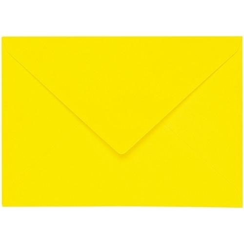 Artoz 1001 - 'Corn Yellow' Envelope. 178mm x 125mm 100gsm B6 Gummed Envelope.