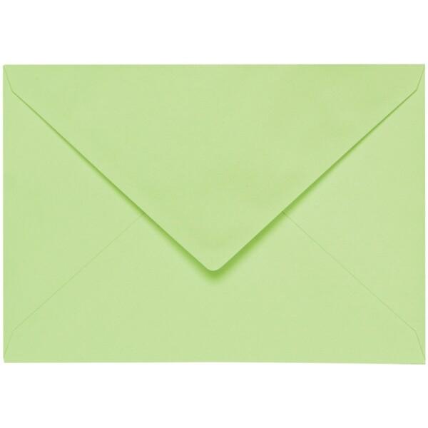Artoz 1001 - 'Birchtree Green' Envelope. 178mm x 125mm 100gsm B6 Gummed Envelope.