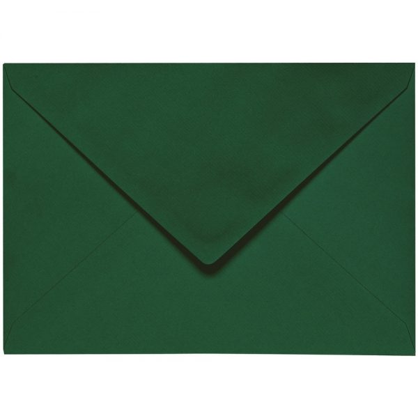 Artoz 1001 - 'Racing Green' Envelope. 178mm x 125mm 100gsm B6 Gummed Envelope.