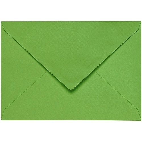 Artoz 1001 - 'Pea Green' Envelope. 178mm x 125mm 100gsm B6 Gummed Envelope.