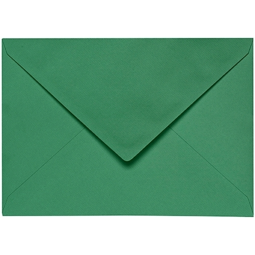 Artoz 1001 - 'Firtree Green' Envelope. 178mm x 125mm 100gsm B6 Gummed Envelope.