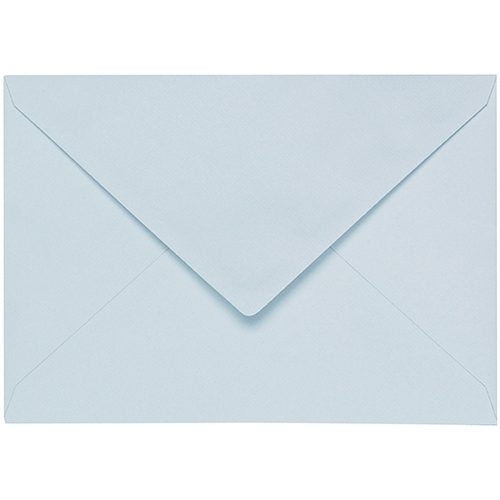 Artoz 1001 - 'Sky Blue' Envelope. 178mm x 125mm 100gsm B6 Gummed Envelope.