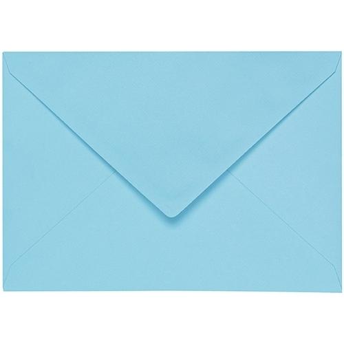 Artoz 1001 - 'Azure Blue' Envelope. 178mm x 125mm 100gsm B6 Gummed Envelope.