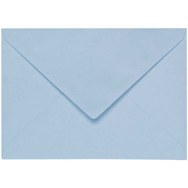Artoz 1001 - 'Pastel Blue' Envelope. 178mm x 125mm 100gsm B6 Gummed Envelope.