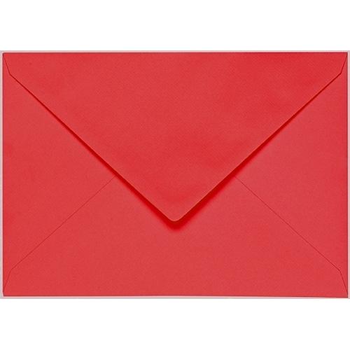 Artoz 1001 - 'Light Red' Envelope. 178mm x 125mm 100gsm B6 Gummed Envelope.
