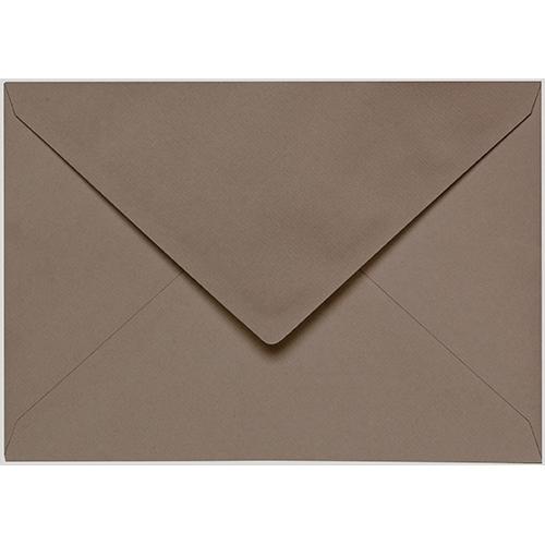 Artoz 1001 - 'Taupe' Envelope. 178mm x 125mm 100gsm B6 Gummed Envelope.