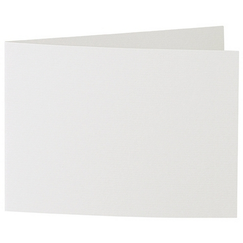 Artoz 1001 - 'Silver Grey' Card. 338mm x 120mm 220gsm B6 Bi-Fold (Short Edge) Card.