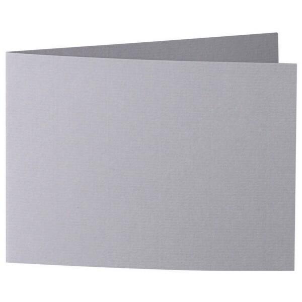 Artoz 1001 - 'Graphite' Card. 338mm x 120mm 220gsm B6 Bi-Fold (Short Edge) Card.