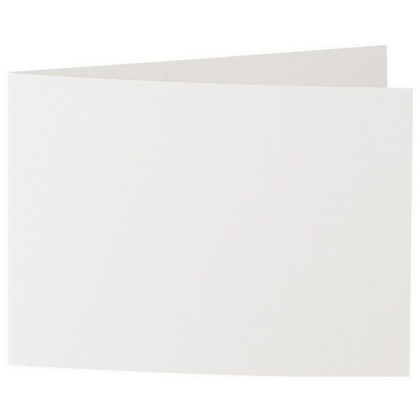 Artoz 1001 - 'Pale Ivory' Card. 338mm x 120mm 220gsm B6 Bi-Fold (Short Edge) Card.