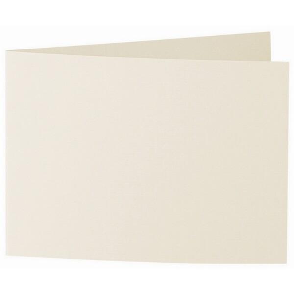 Artoz 1001 - 'Chamois' Card. 338mm x 120mm 220gsm B6 Bi-Fold (Short Edge) Card.