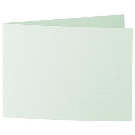 Artoz 1001 - 'Pale Mint' Card. 338mm x 120mm 220gsm B6 Bi-Fold (Short Edge) Card.