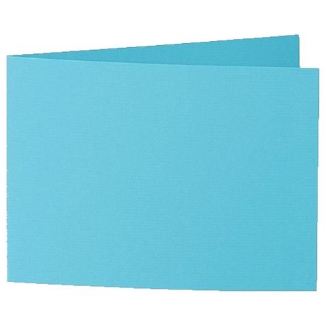 Artoz 1001 - 'Turquoise' Card. 338mm x 120mm 220gsm B6 Bi-Fold (Short Edge) Card.