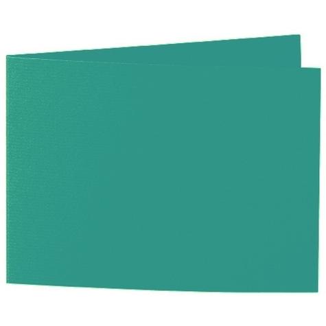 Artoz 1001 - 'Tropical Green' Card. 338mm x 120mm 220gsm B6 Bi-Fold (Short Edge) Card.