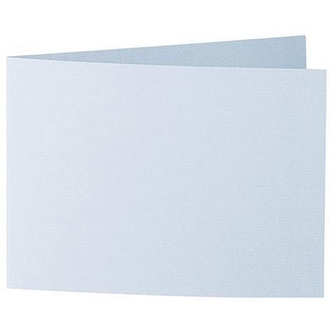 Artoz 1001 - 'Aqua' Card. 338mm x 120mm 220gsm B6 Bi-Fold (Short Edge) Card.