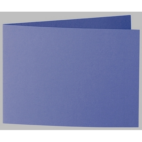 Artoz 1001 - 'Indigo' Card. 338mm x 120mm 220gsm B6 Bi-Fold (Short Edge) Card.