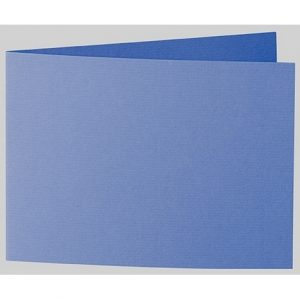 Artoz 1001 - 'Royal Blue' Card. 338mm x 120mm 220gsm B6 Bi-Fold (Short Edge) Card.