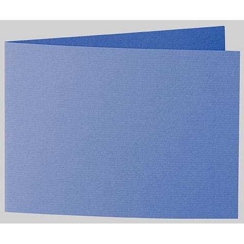 Artoz 1001 - 'Royal Blue' Card. 338mm x 120mm 220gsm B6 Bi-Fold (Short Edge) Card.