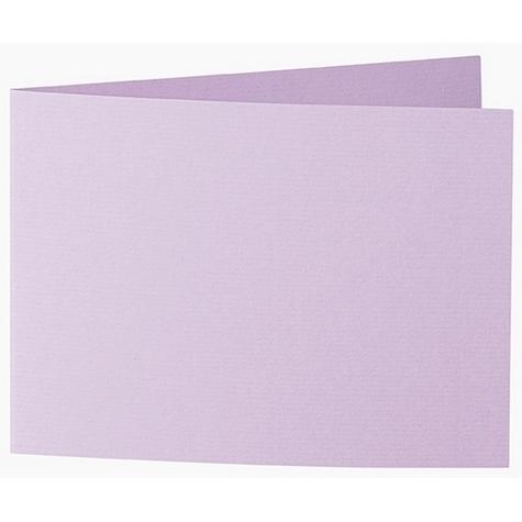 Artoz 1001 - 'Lilac' Card. 338mm x 120mm 220gsm B6 Bi-Fold (Short Edge) Card.
