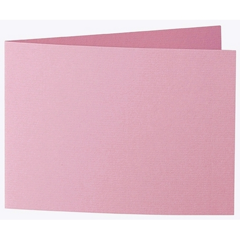 Artoz 1001 - 'Coral' Card. 338mm x 120mm 220gsm B6 Bi-Fold (Short Edge) Card.
