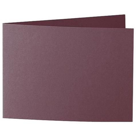 Artoz 1001 - 'Marsala' Card. 338mm x 120mm 220gsm B6 Bi-Fold (Short Edge) Card.